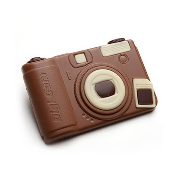 Coffret Appareil Photo en Chocolat
