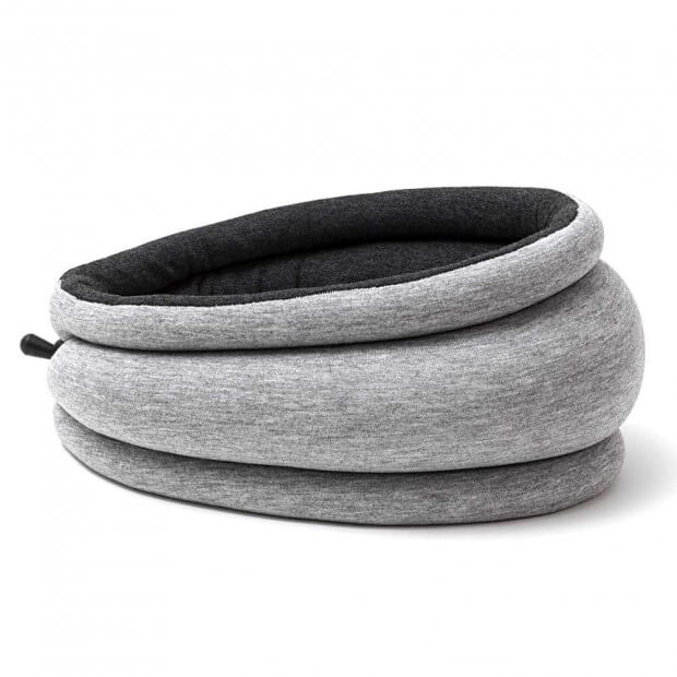 Coussin Autruche Ostrichpillow Light anthracite
