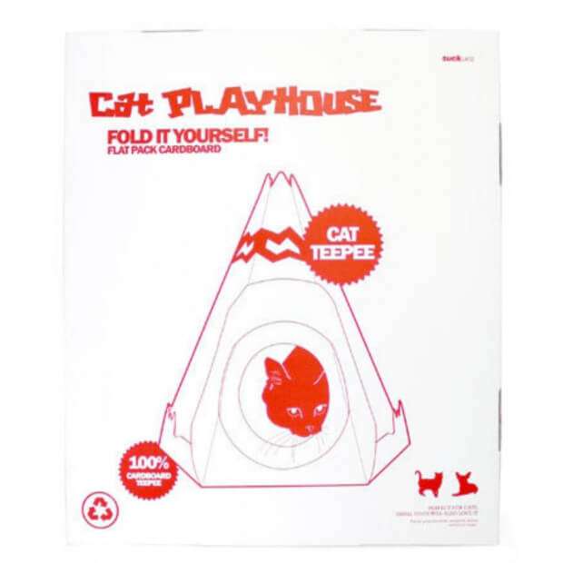 Maison pour Chat Tipi packaging