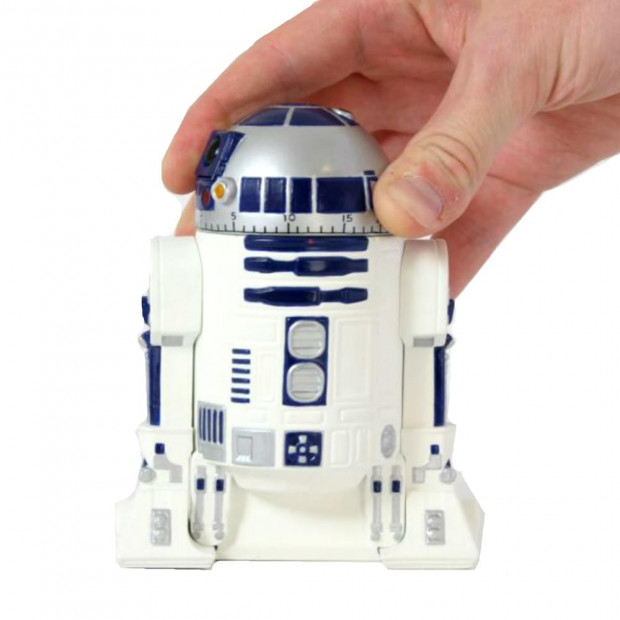 Minuteur R2-D2 Star Wars en main