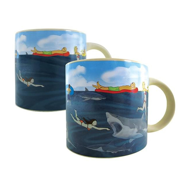 Mug Requin Thermoréactif shark !
