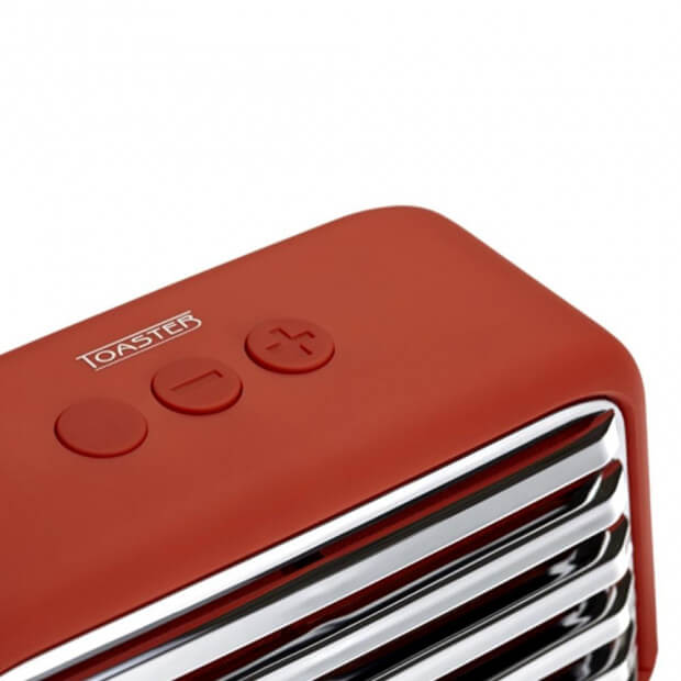 Enceinte Bluetooth Vintage commandes