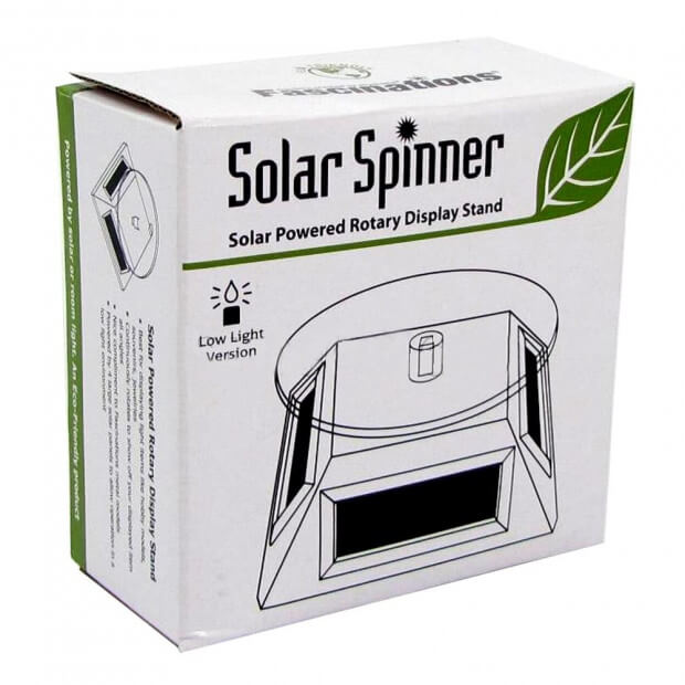 Présentoir Rotatif Solar Spinner Deluxe packaging