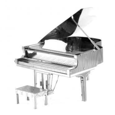 Maquette Métal 3D Grand Piano miniature