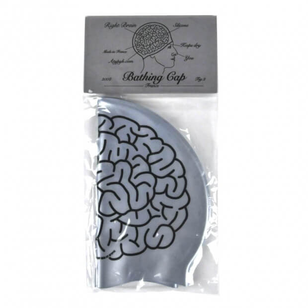 Bonnet de Bain Cerveau packaging