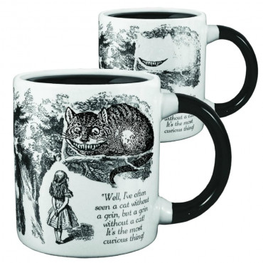 Mug Cheshire Cat Thermoréactif en céramique