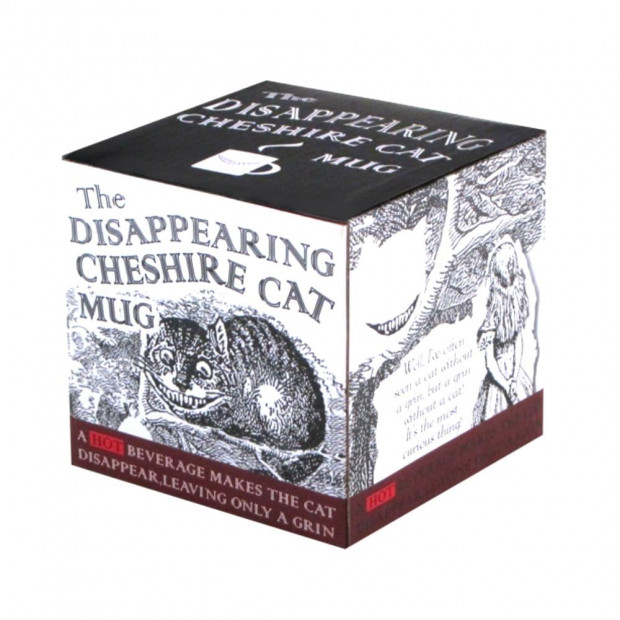 Mug Cheshire Cat Thermoréactif packaging