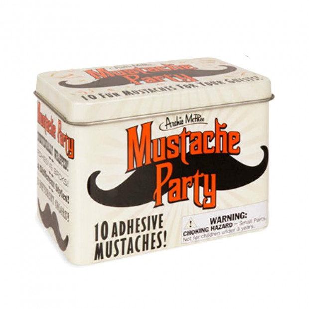 Moustaches Adhésives (x10) packaging