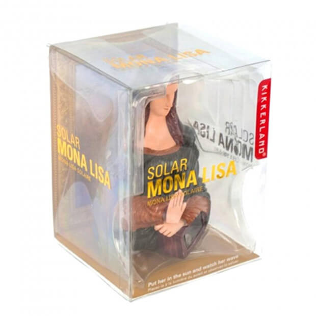 Figurine Mona Lisa Solaire packaging