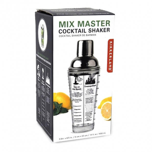 Shaker à Cocktails Mix Master packaging