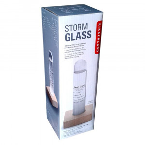 Baromètre Storm Glass en Verre Packaging