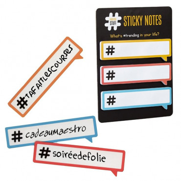 Bloc-Notes Hashtag (x3)