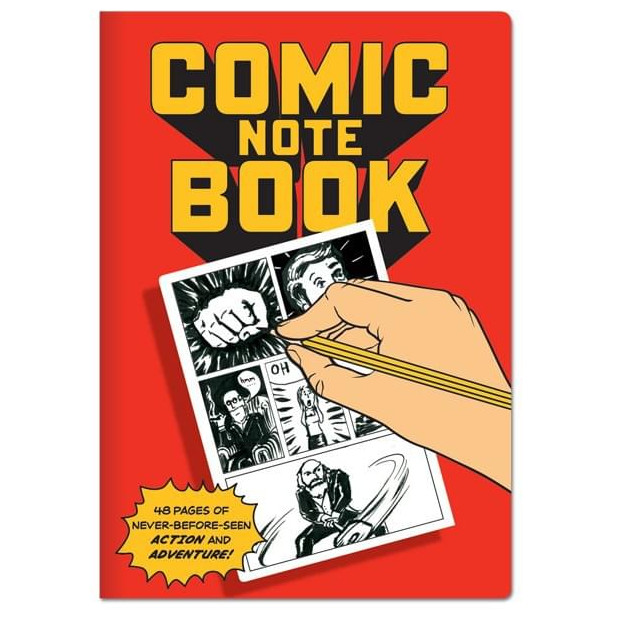 Grand Carnet Bande Dessinée