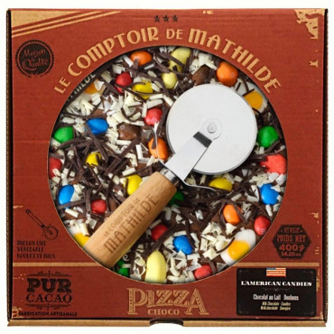 Choco'Pizza l'American Candy Chocolat et Bonbons