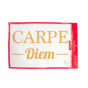 Sticker « Carpe Diem » sticker à message