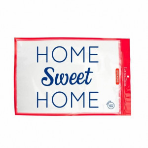 Sticker « Home Sweet Home » sticker à message