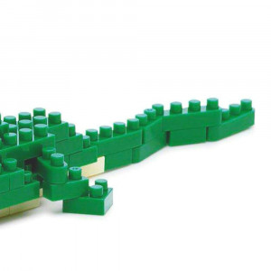 Nanoblock Crocodile On n'en Voit plus la Fin