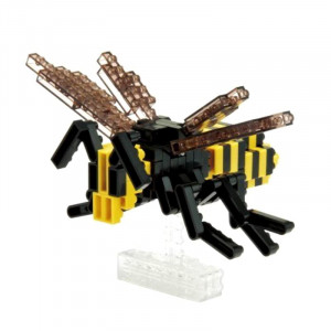 Nanoblock Frelon avec son Socle Transparent