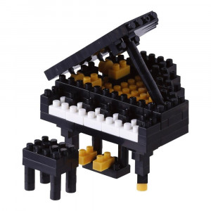 Nanoblock Piano à Queue Nouvelle Version