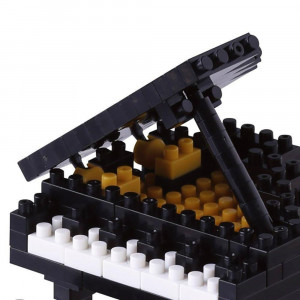Nanoblock Piano à Queue Nouveau Capot plus Plat