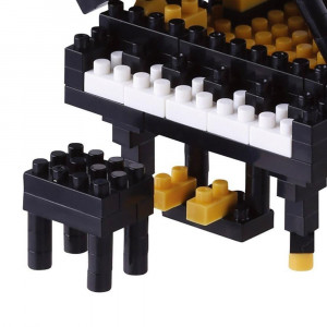Nanoblock Piano à Queue Zoom sur le Tabouret