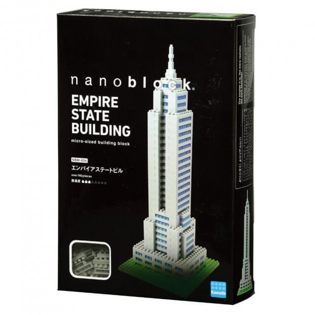Nanoblock Tour Empire State Building Packaging