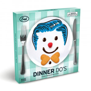 Assiettes à Décorer Cartoons (x3) Packaging