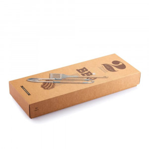 Kit 2 Accessoires pour Barbecue Packaging Kraft