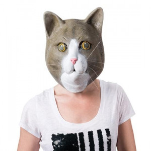 Masque Chat déguisement chat