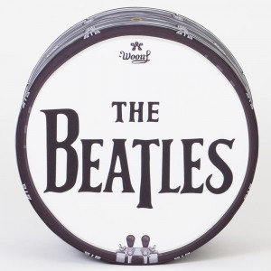 Pouf Beatles Tambour Rock