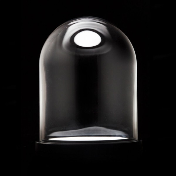 lampe cloche en verre cadeau maestro. Black Bedroom Furniture Sets. Home Design Ideas