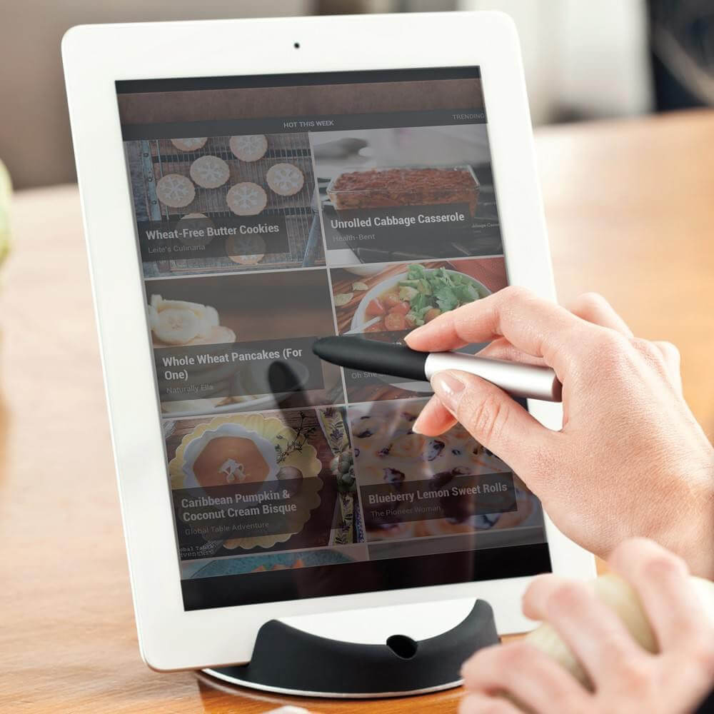 "Support pour Tablette et Stylet ""Chef"""
