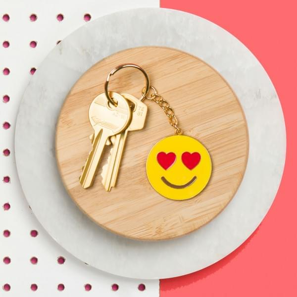 fashion styles purchase cheap save up to 80% Porte-clés Emoji Amoureux