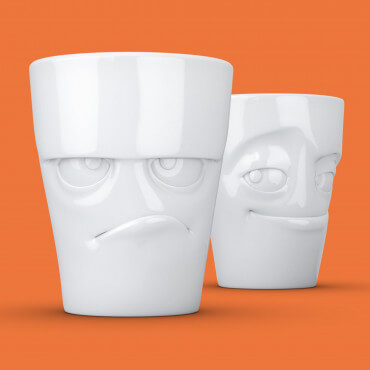 Set de Mugs Grognon et Malin (x2)
