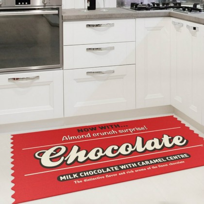 tapis de cuisine chocolate cadeau maestro. Black Bedroom Furniture Sets. Home Design Ideas