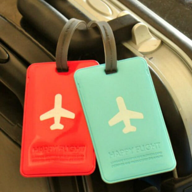 Porte-Etiquette pour Bagage Happy Flight