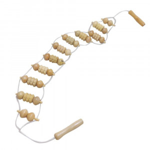 Sangle de Massage en Bois 90 cm de Long
