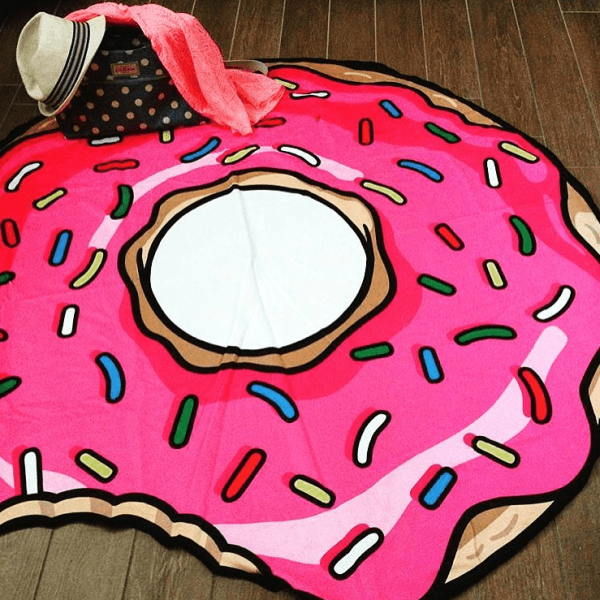 serviette de plage donut xxl cadeau maestro. Black Bedroom Furniture Sets. Home Design Ideas