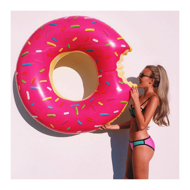 Donut Gonflable Géant gourmand
