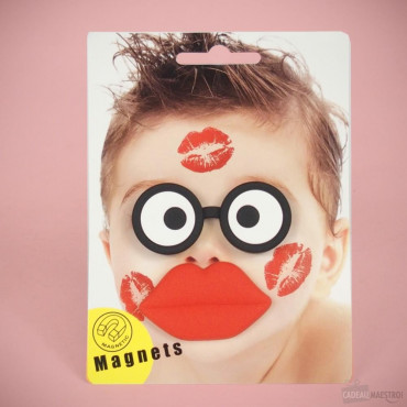 Magnets Bisous pour Photo