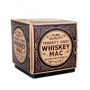 Bougie Parfumée Whisky Packaging