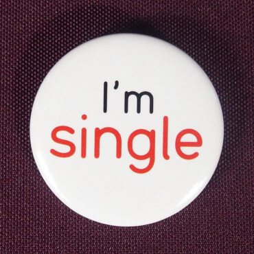 Badge I'm single