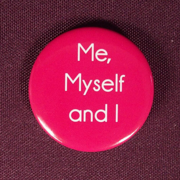 Badge Me, myself and I