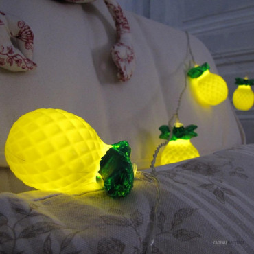 Guirlande Lumineuse Ananas 10 Fruits à Leds