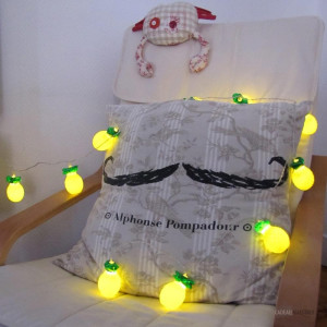 Guirlande Lumineuse Ananas Touches Lumineuses d'Ambiance