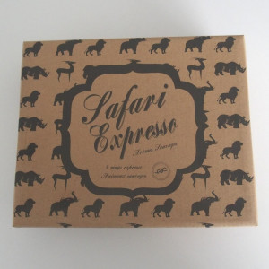 Coffret Tasses Expresso Safari (x4)