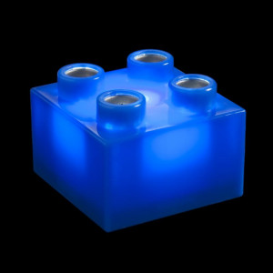 Lampe 36 Briques Light Stax Cube 4 Plots