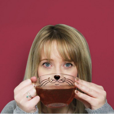 Tasse Moustache Chat