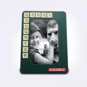 Cadre Photo Scrabble photo daddy