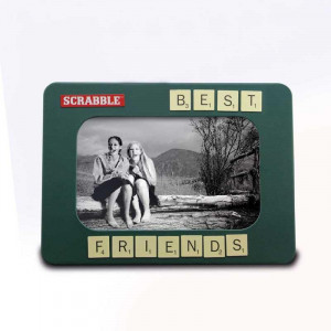Cadre Photo Scrabble photo best friend